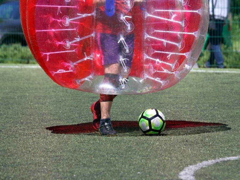 Shoot your way to a great stag weekend with bubble football