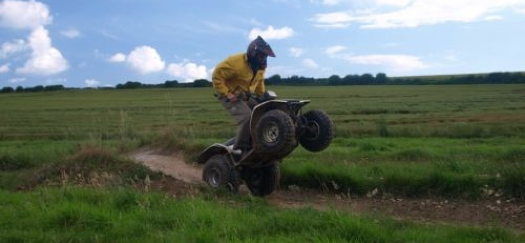 Quad Rocked and Two Smoking Barrels Quad Biking in Bournemouth (60 min)
