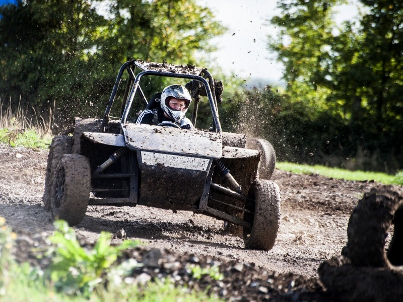 Off road mud and dirt buggies are a great driving stag do idea