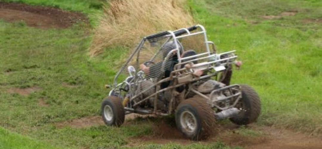 A Petrol Headed Gunners Paradise All Terrain Rage Karts (7 laps)