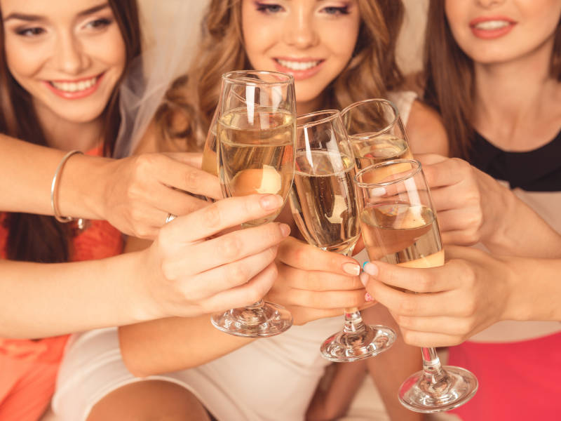 Organising a house party is one of a load of great evening hen party ideas