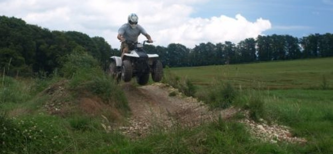 Quad Biking Craze & Assault Course Challenge  Quad Biking in Bournemouth (60 min)
