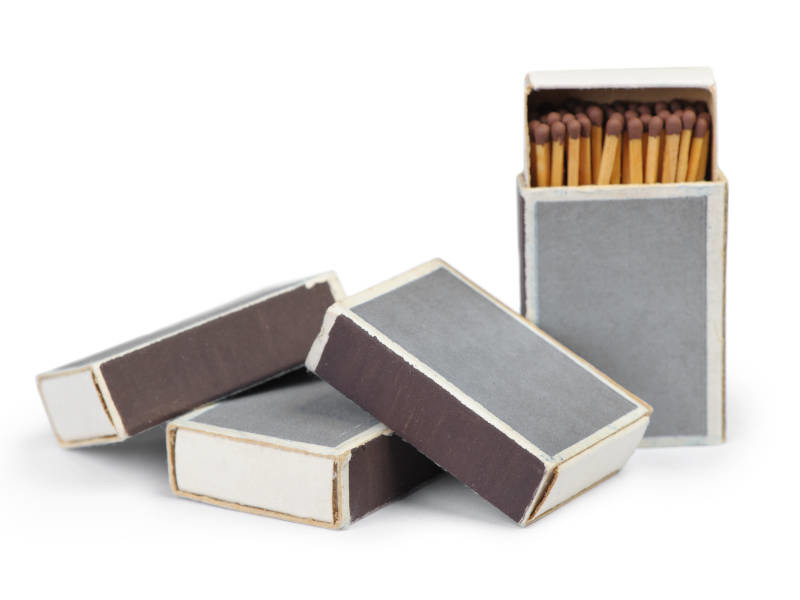 Matchboxes can provide great stag do drinking games