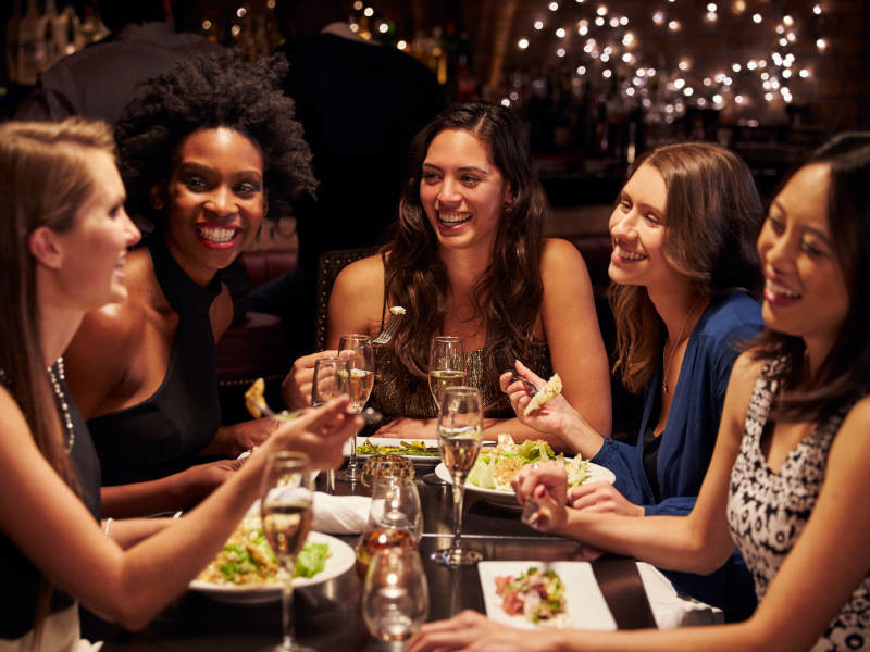 Evening hen party ideas which include food are almost a necessity