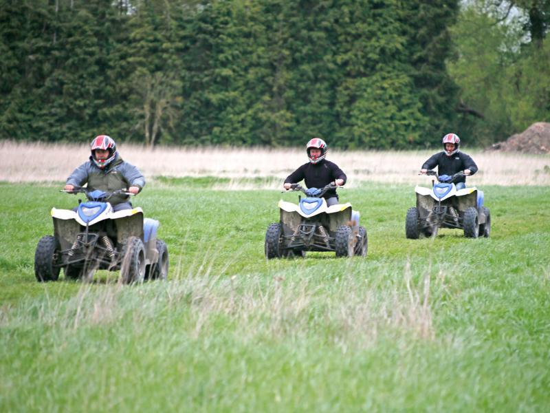 Get out on a quad bike on your summer stag do