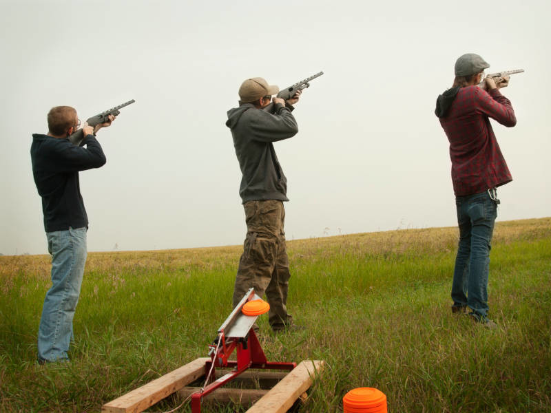 Clay Pigeon Shooting is one of the best stag do ideas