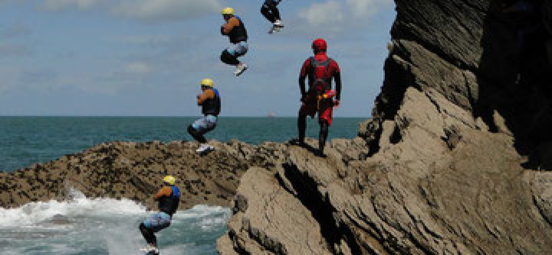 Wet n Wild Package From £155 Exciting Coasteering, Jurassic Coast Dorset (up to 16 people) test
