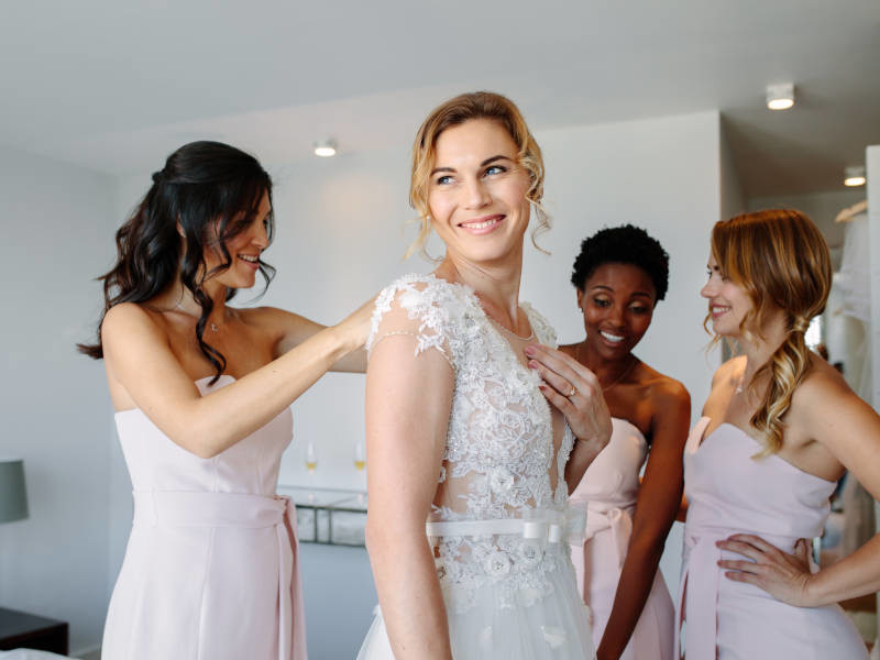 Help with as much as you can if you're the maid of honour