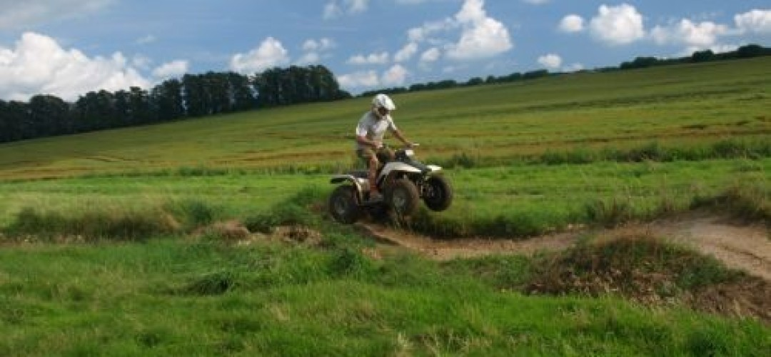 All Out Action Weekend  Quad Biking in Bournemouth (60 min)