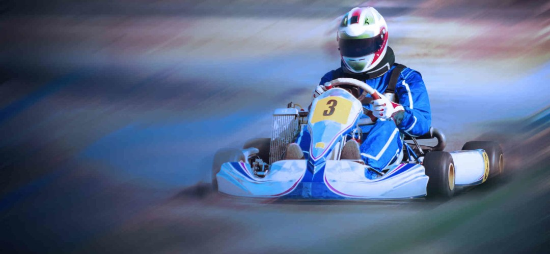 Blast From The Past Indoor Go Karting in Bristol (Open Timed, 30 mins track time)