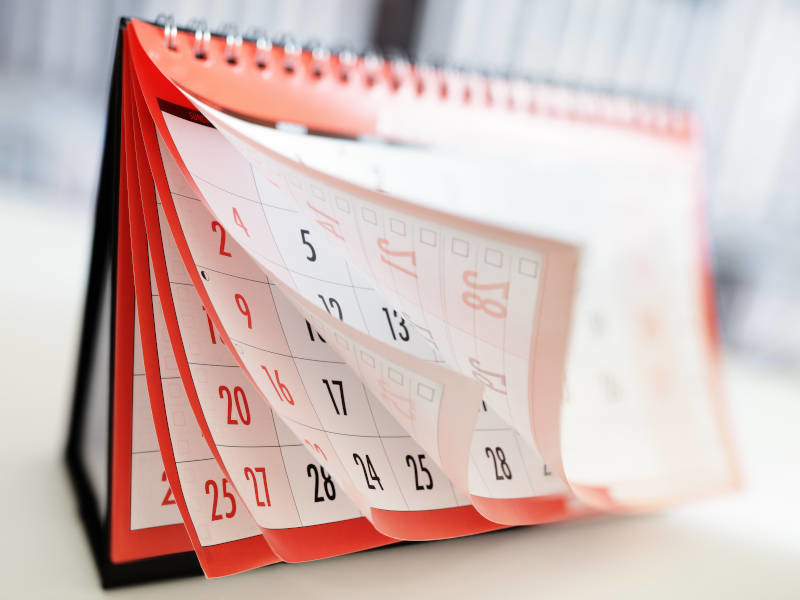 Choose a date for your last minute hen party