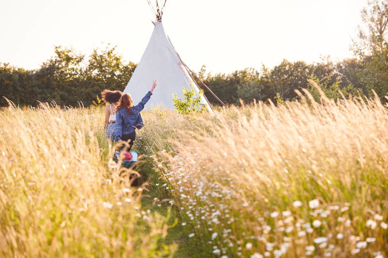 Hen Party Weekend Glamping