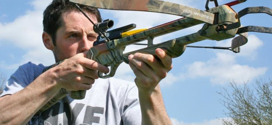 Bristol Max Power Crossbow Shooting