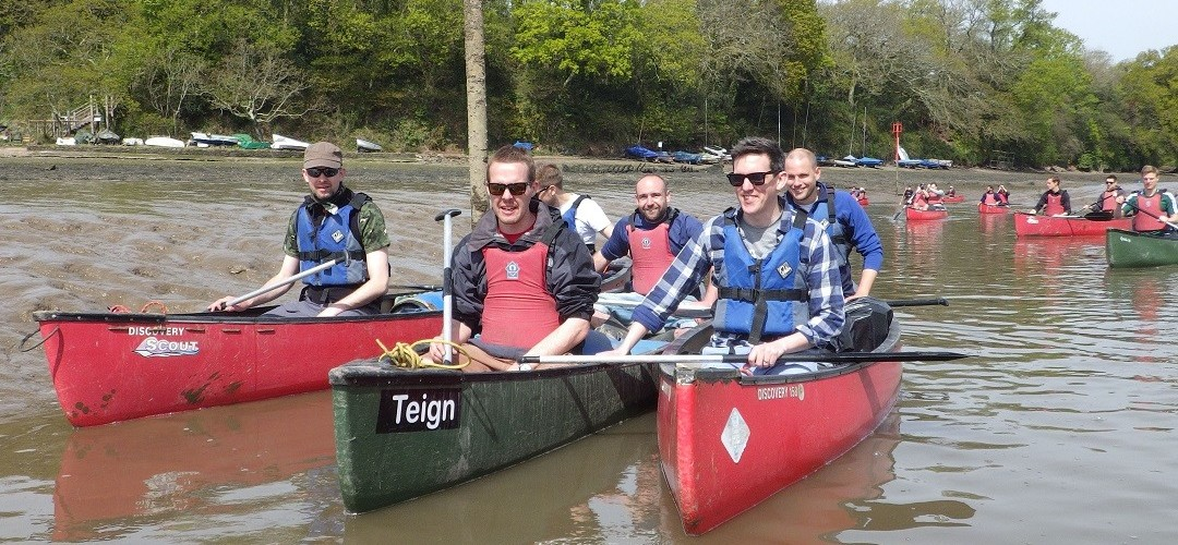 Canoe Day Trip + Cocktail Making Masterclass Canoeing & Bushcraft Day with Lunch