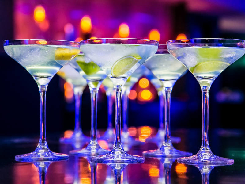 A cocktail making masterclass is a top choice of evening hen party ideas