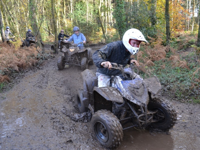 Quad biking is a great driving stag do idea
