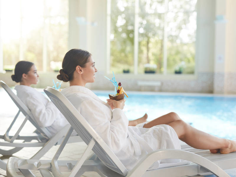 Relax on your hen party spa weekend