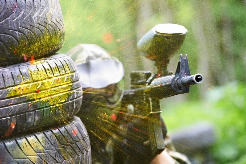 Paintball as a Bournemouth Stag Do idea
