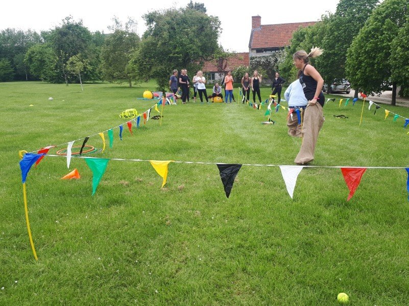 Choose a sports day as one of your sporty hen party activities