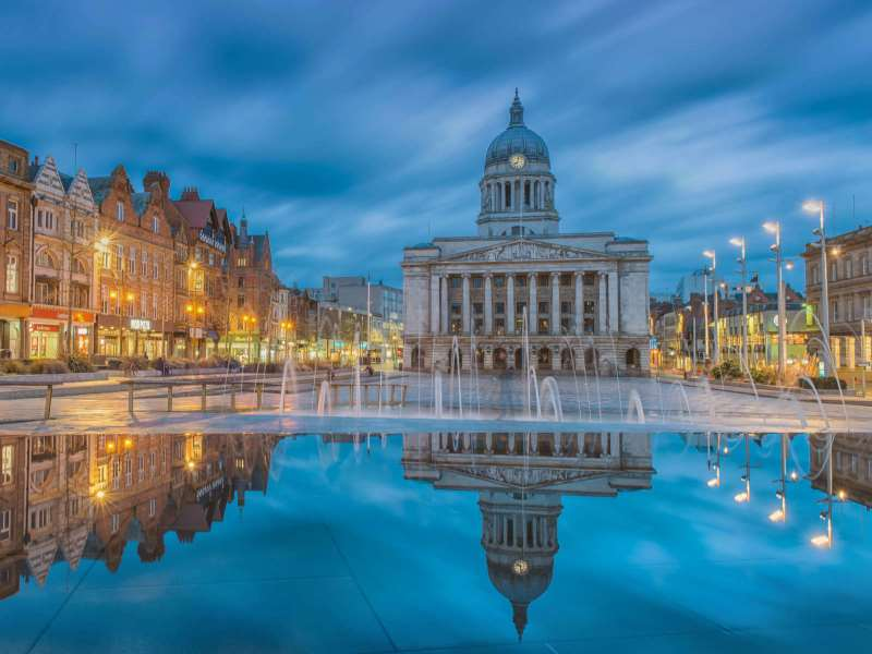 Nottingham is a great Midlands stag do destination